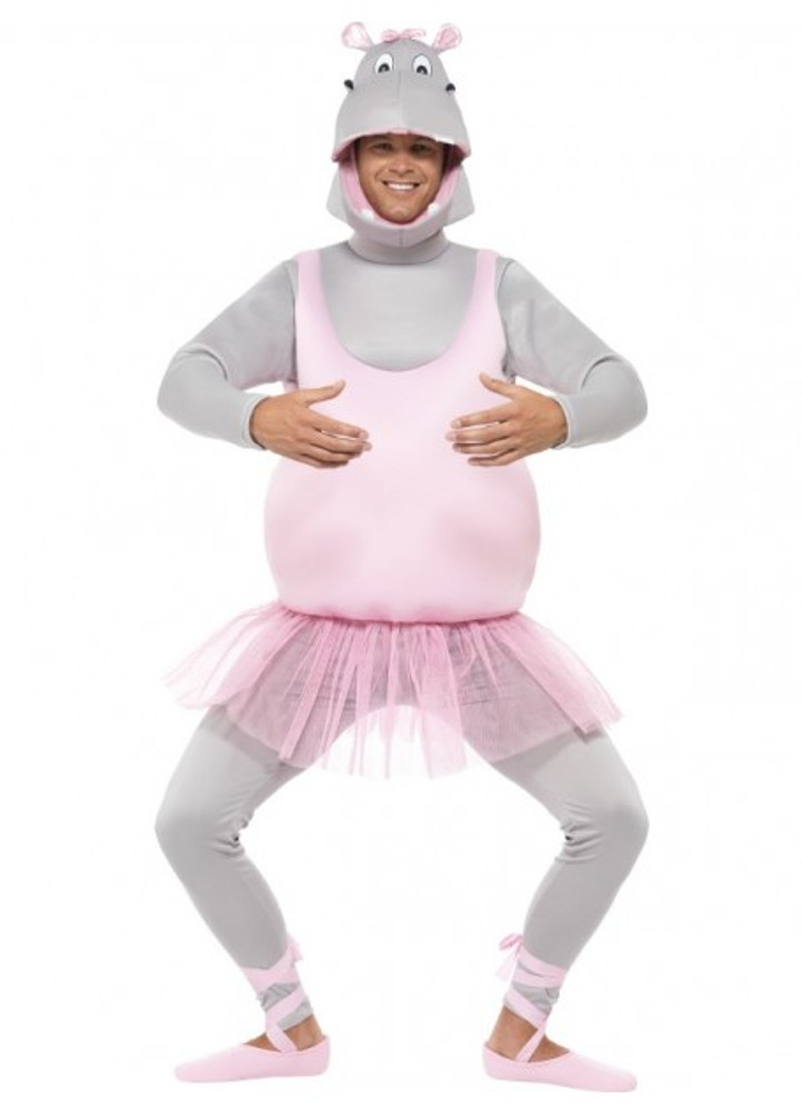 Hippo Ballerina Animal Costume