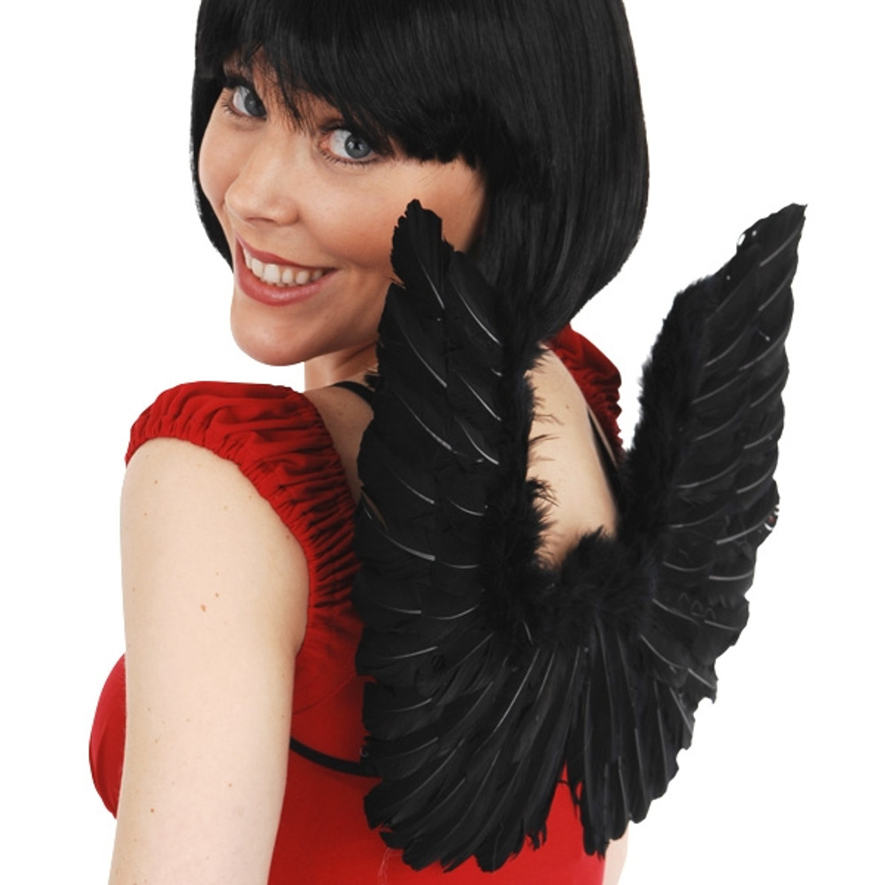 Angel & Fairy Wings Small Black