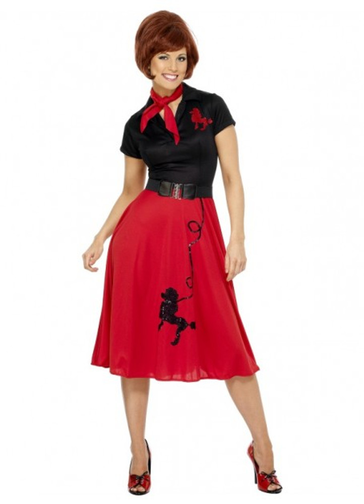 1950s Poodle Womens Costume