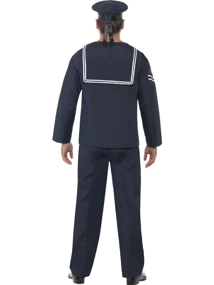 Sailor Naval Seaman Mens Costume