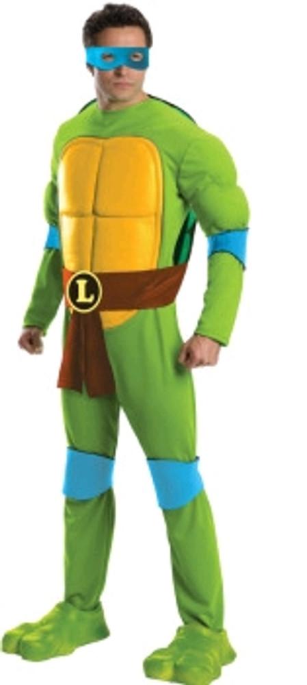 Teenage Mutant Ninja Turtles Leonardo Deluxe Adult Costume