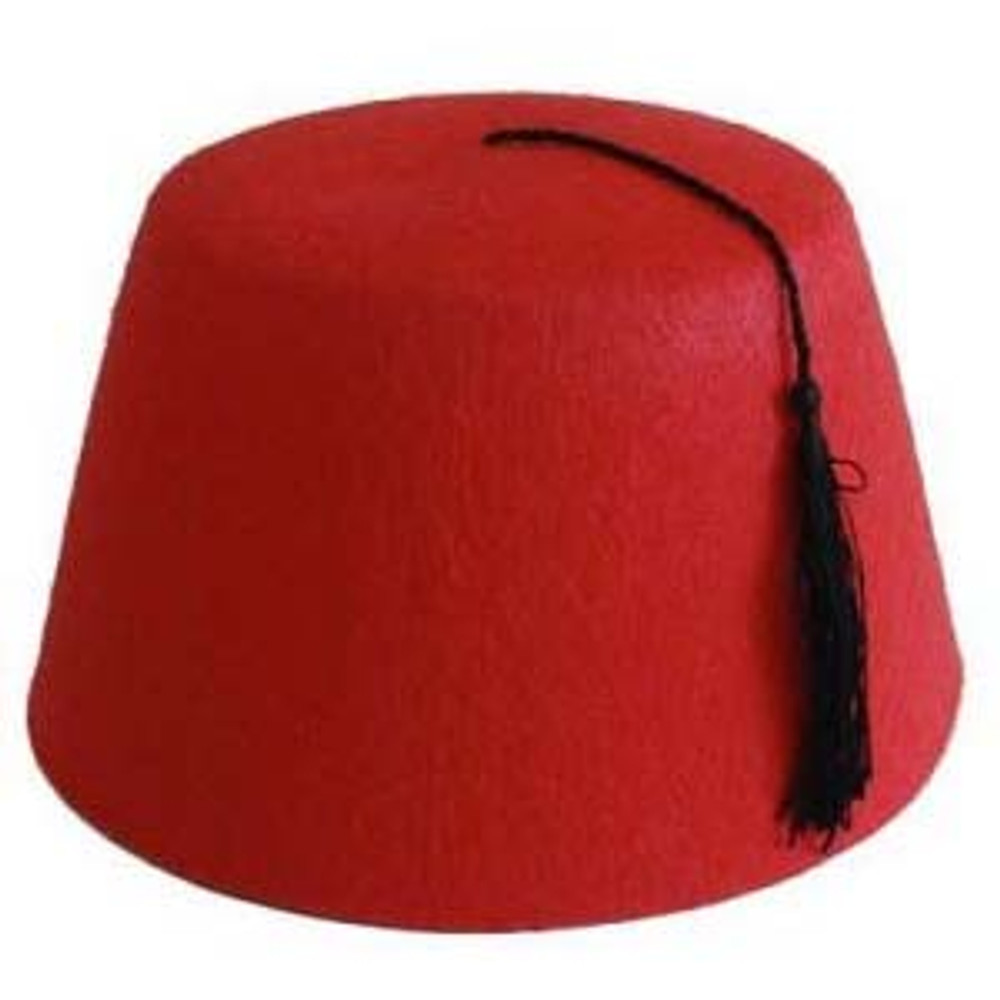 Arabian Fez Hat - Red