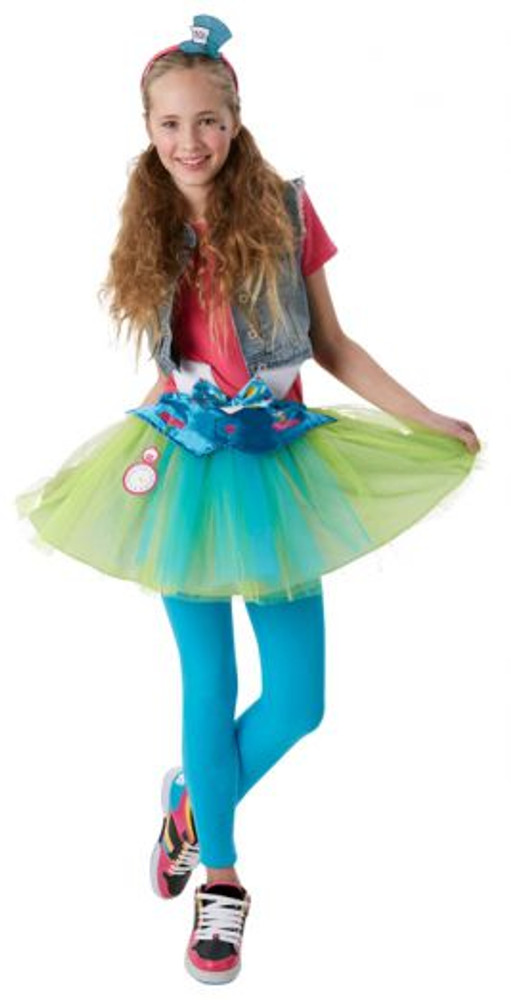 Alice in Wonderland Mad Hatter Girls Tutu