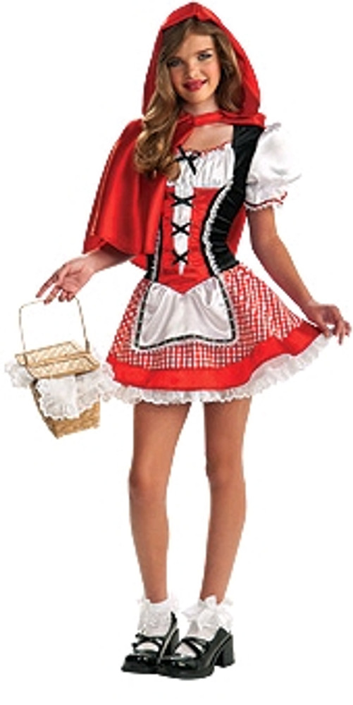 Red Riding Hood Dress Tween