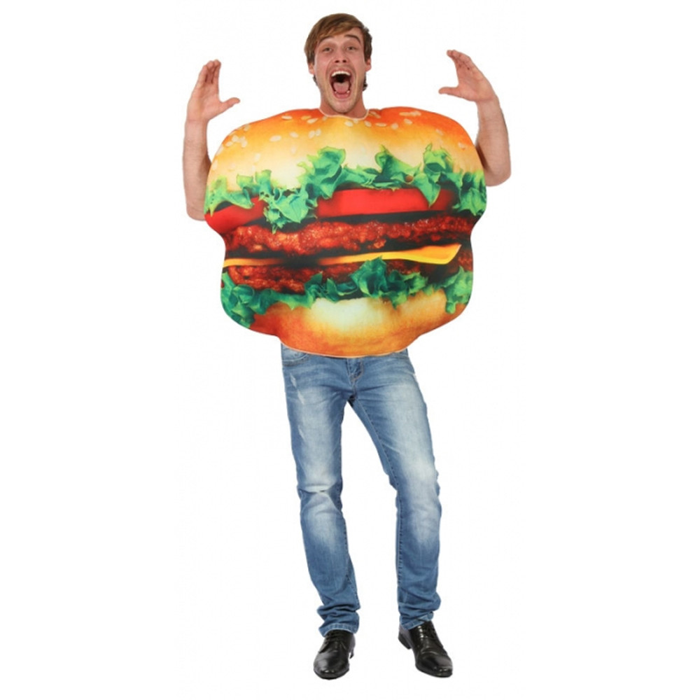 Burger Adult Costume