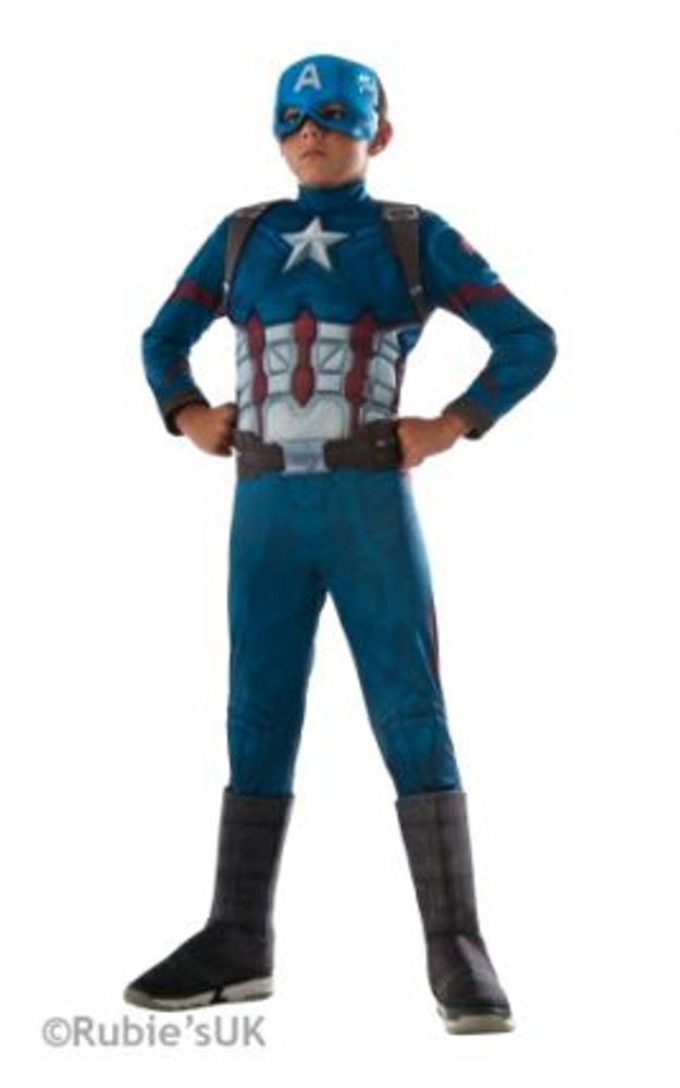 Captain America Civil War Deluxe Boys Costume