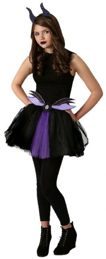 MALEFICENT TWEEN TUTU SET