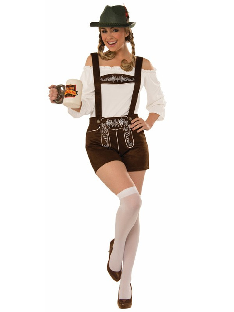 Oktoberfest Lederhosen Womens Costume