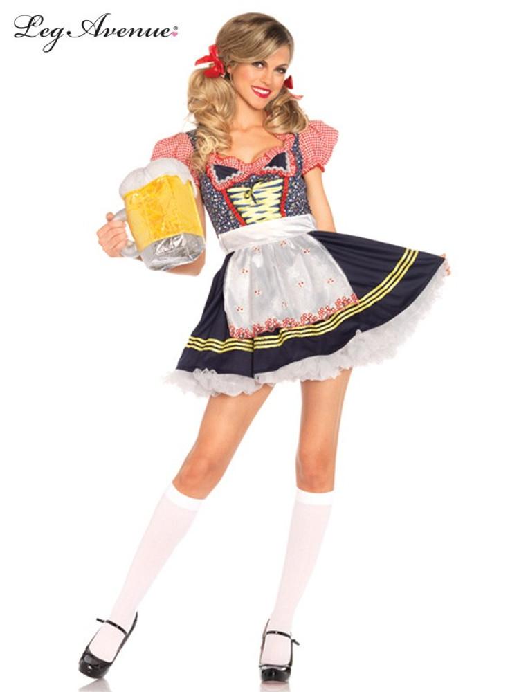 Oktoberfest Beer Stein Babe Womens Costume