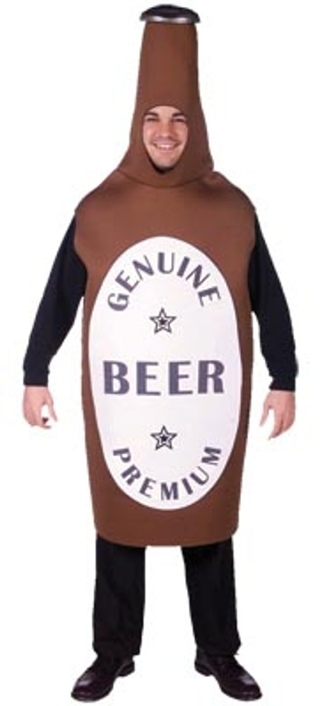 Oktoberfest Beer Bottle Adult Costume