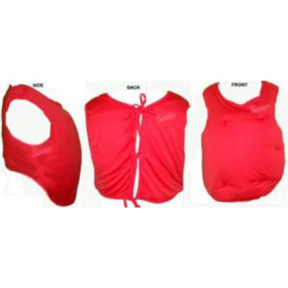 Christmas - Santa Tummies - Red Vest