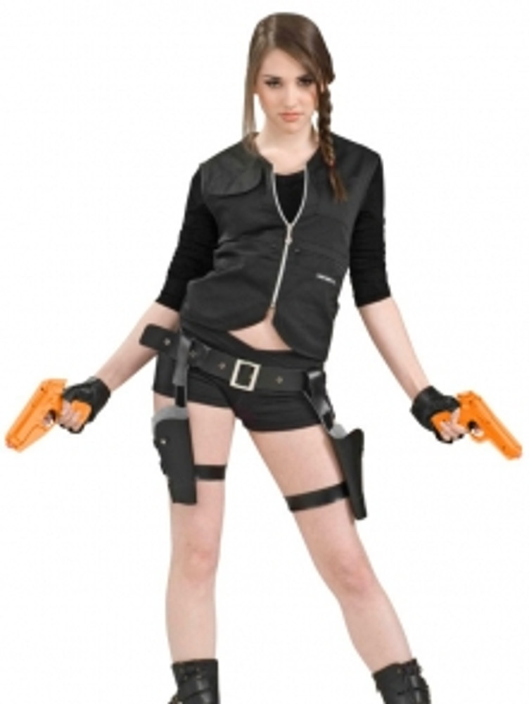 Lara Croft Treasure Huntress Holster & Guns Set