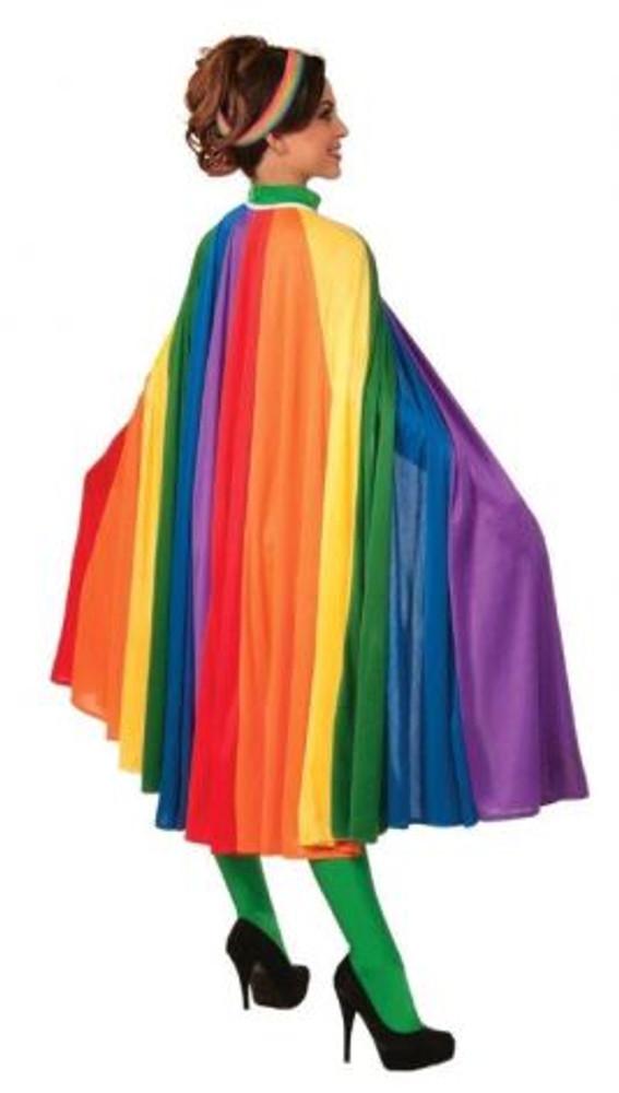 Rainbow Adult Cape