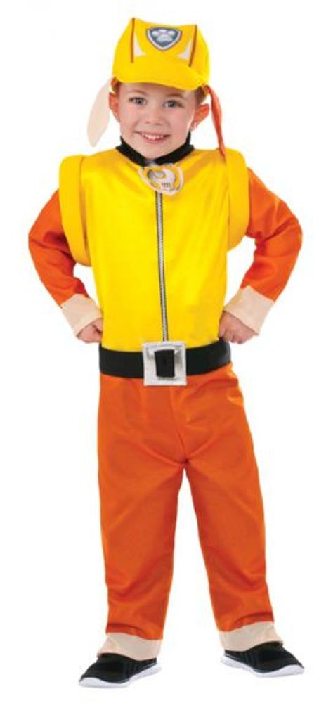 Paw Patrol Rubble Boy Costume