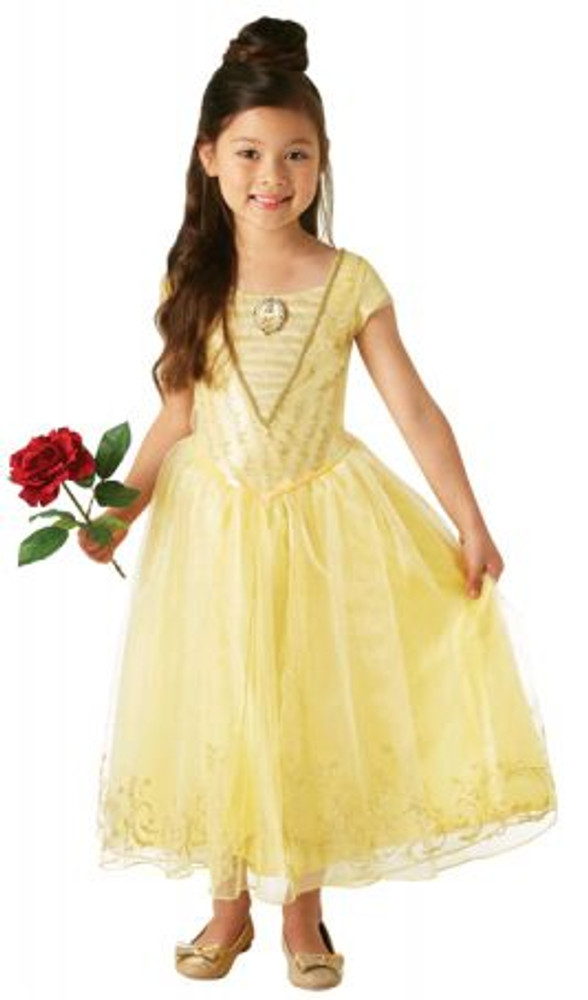 Beauty and the Beast - Belle Live Acton Deluxe Girls Costume