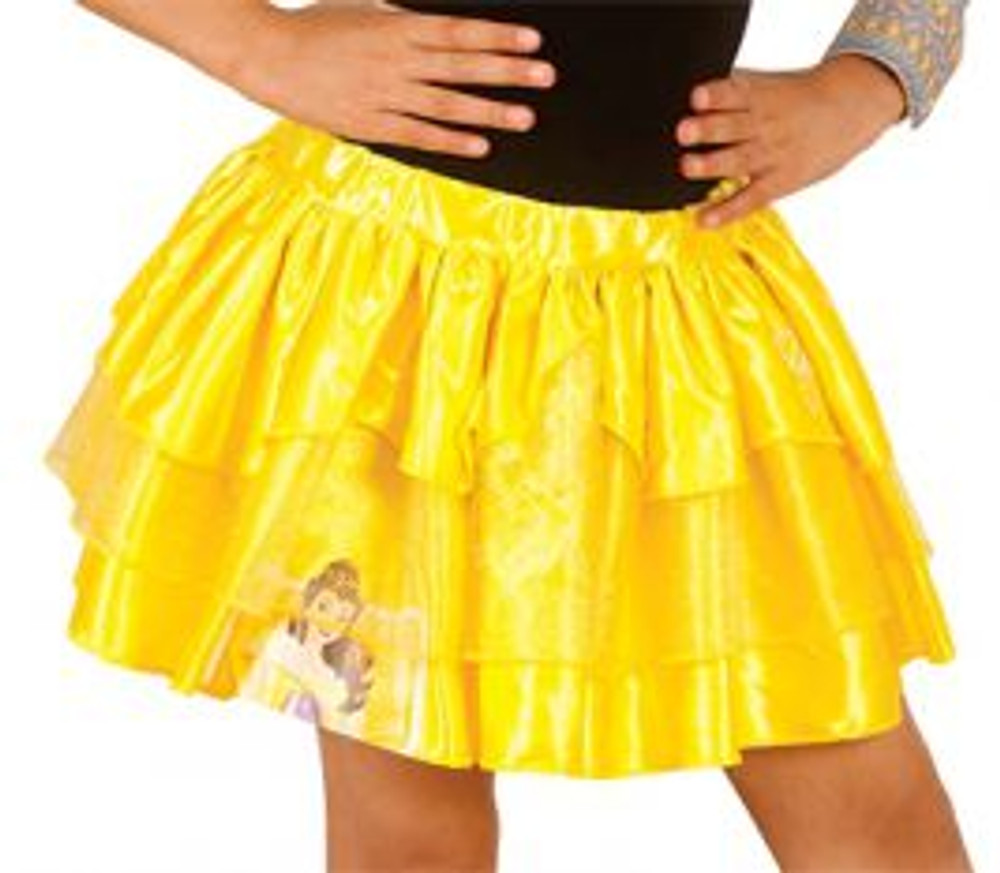 Beauty & Beast Belle Princess Tutu Skirt