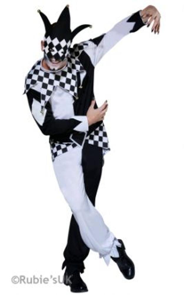 Jester Dark Mens Costume