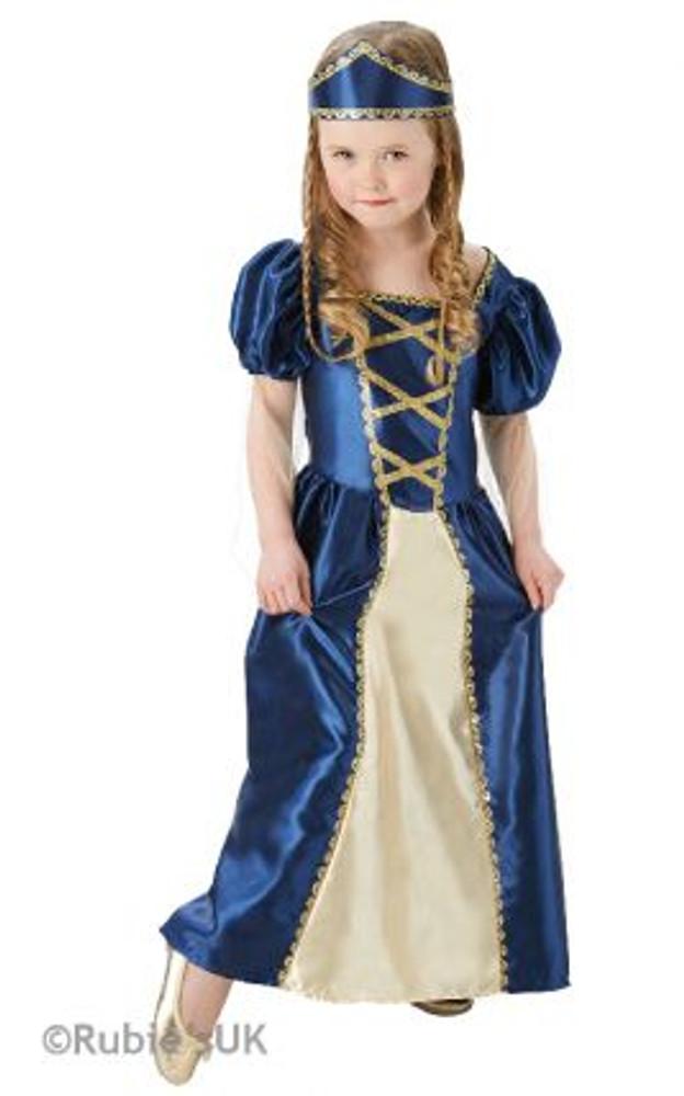 Medieval  Renaissance Princess Girls Costume