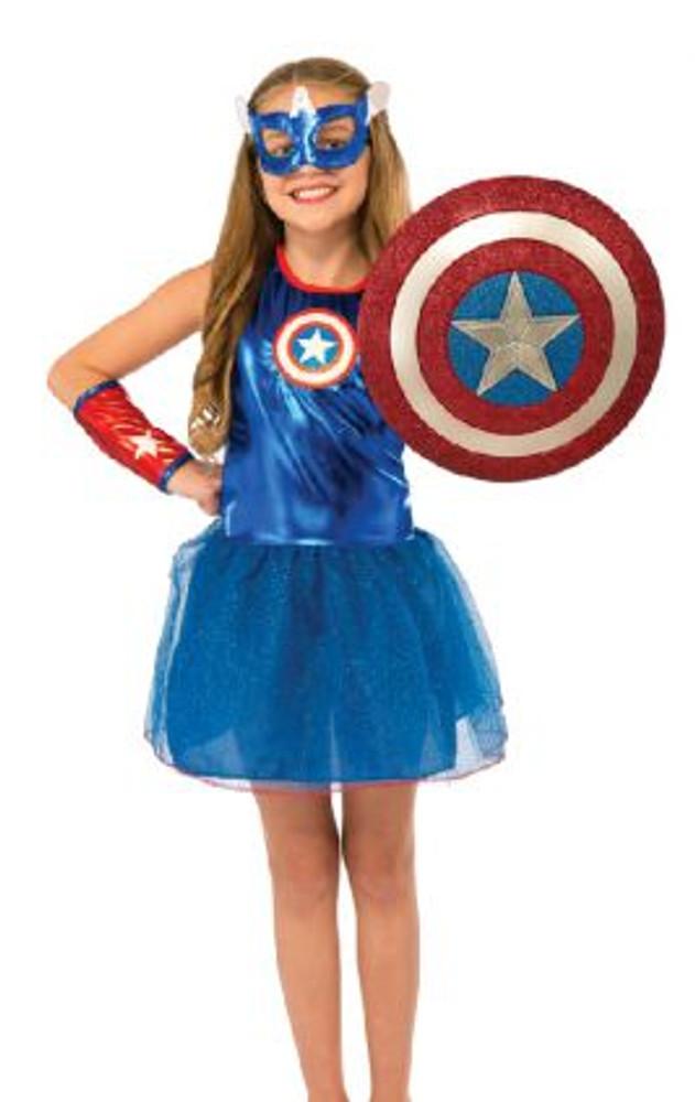 """Captain America Glitter Shield 12"""""""