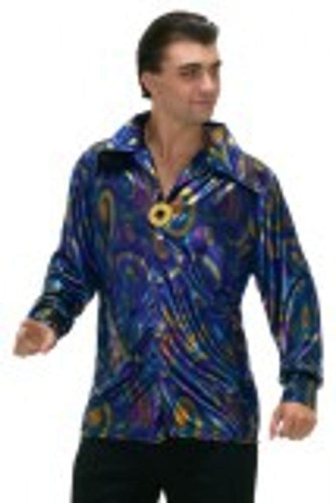 1970's Dynamite Dude Disco Shirt Mens Costume