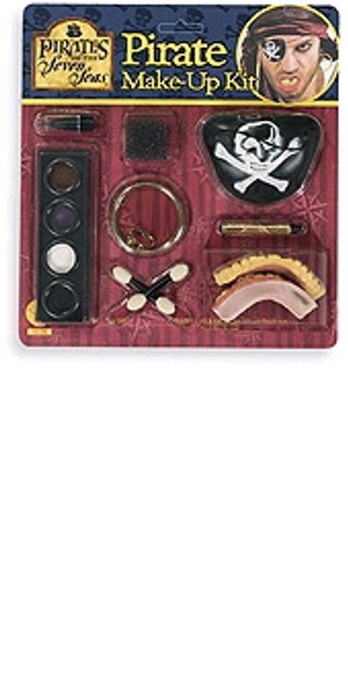 Pirates of The Caribbean Make-up