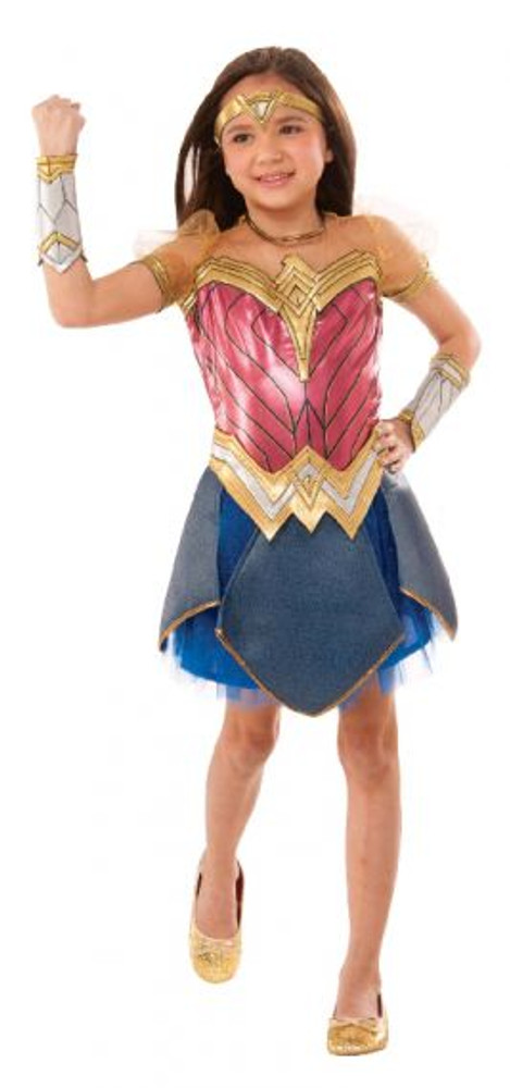 Wonder Woman Premium Girls Costume