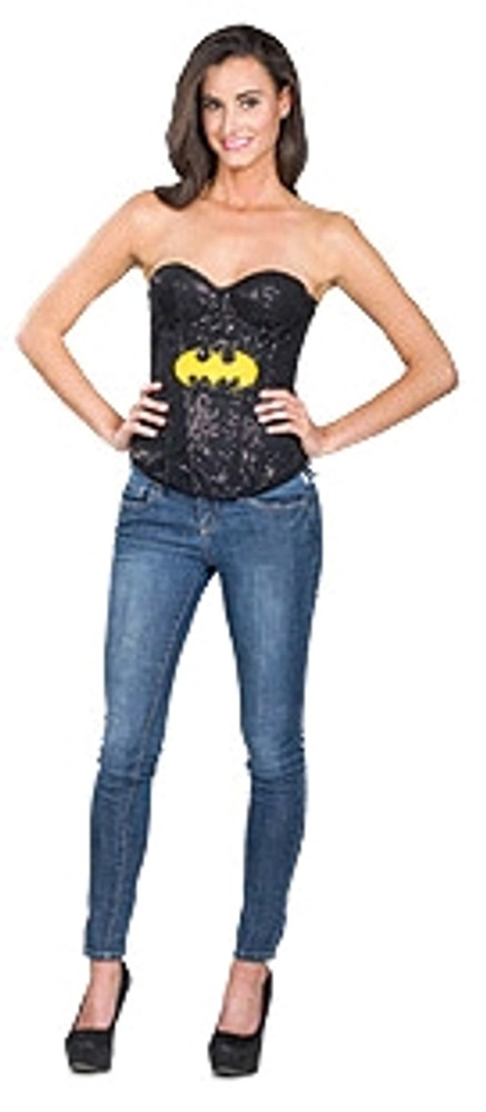 Batgirl Sequin Corset  Womens Costume