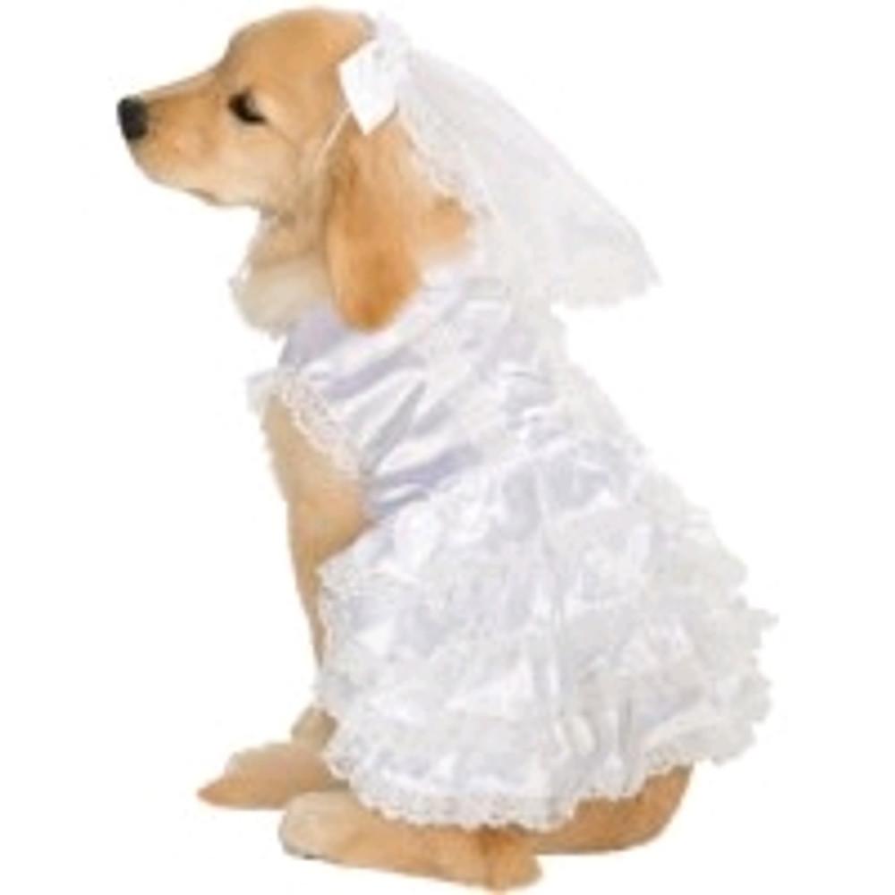 Bride Dog Pet Costume