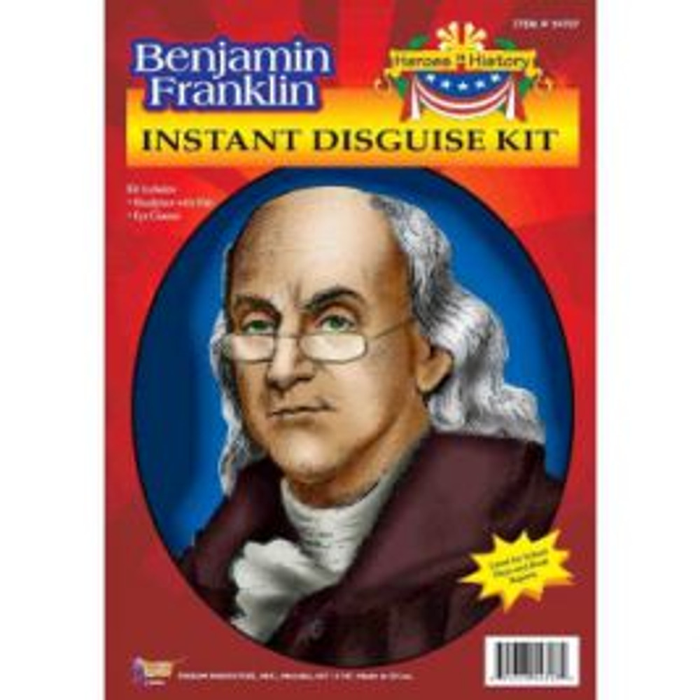 Benjamin Franklin Disguise Kit