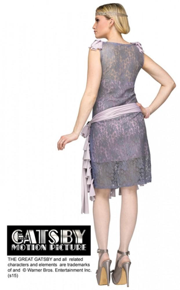 1920s Gatsby Daisy Buchanan Bluebells Womans Costume