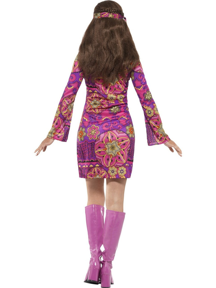 1960s Woodstock Hippie Chick Costume