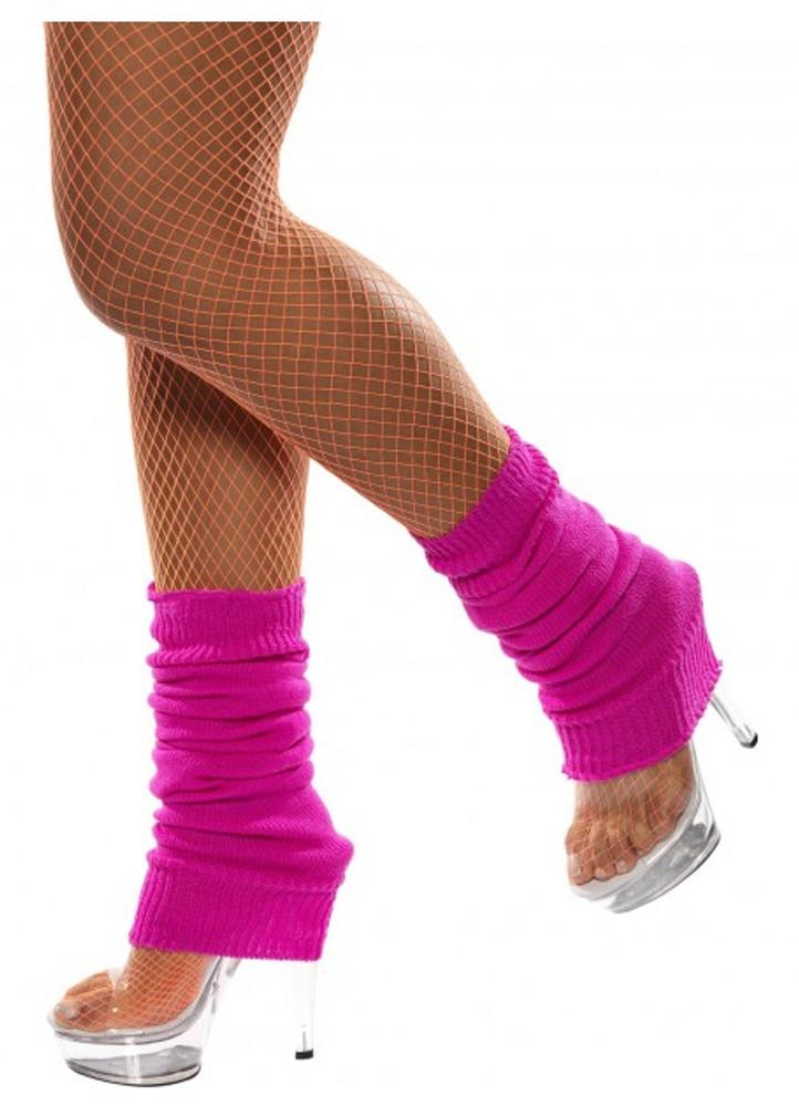 Leg Warmers Hot Pink