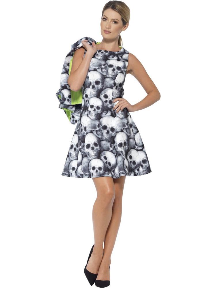 Skeleton Women's Suit Costume