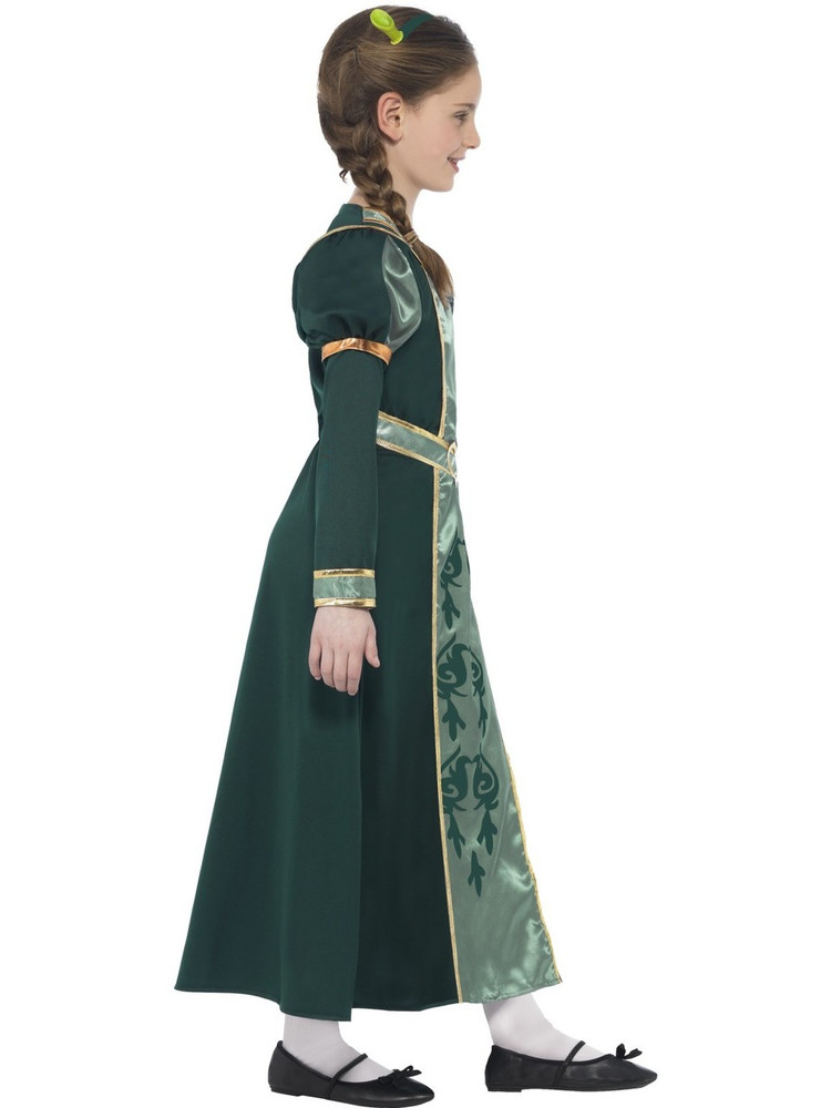 Shrek Princess Fiona Girls Costume