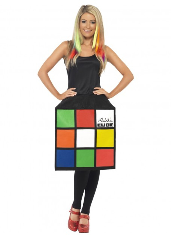 Rubik's Cube  Ladies Costume