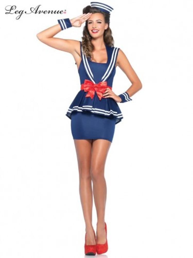 Sailor Aye Aye Amy Womens Costume