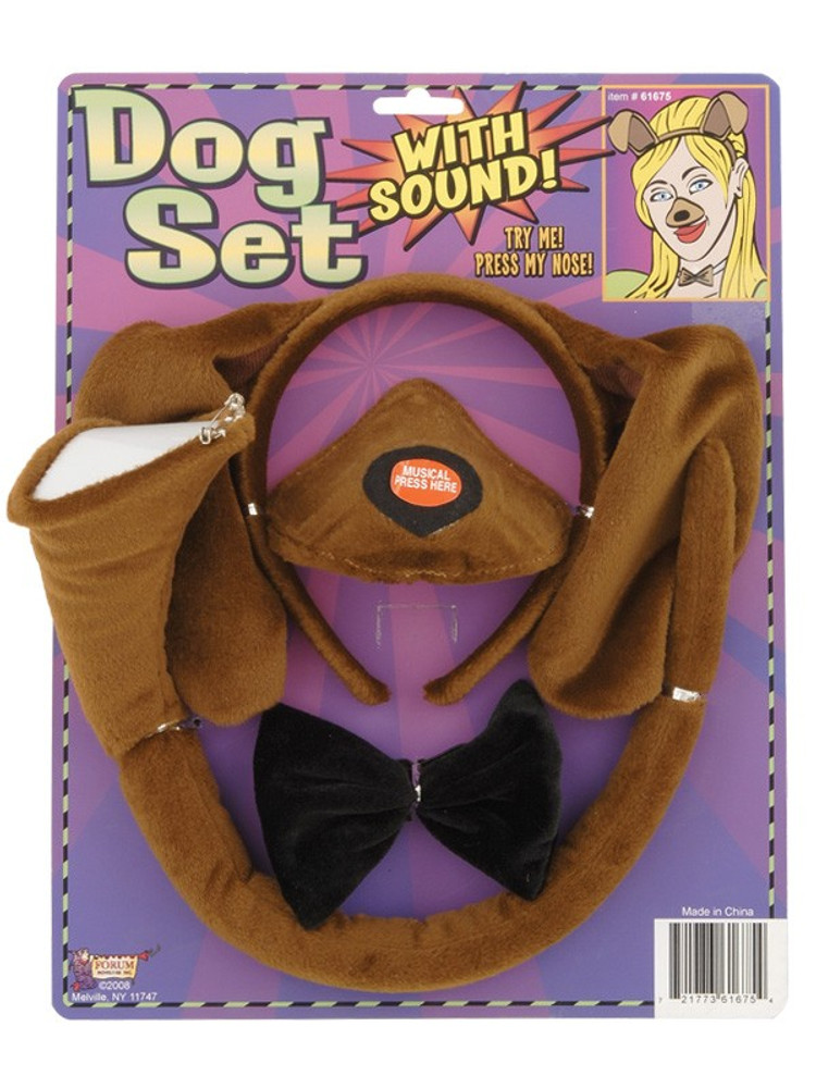 Dog Dress Up Set with sound