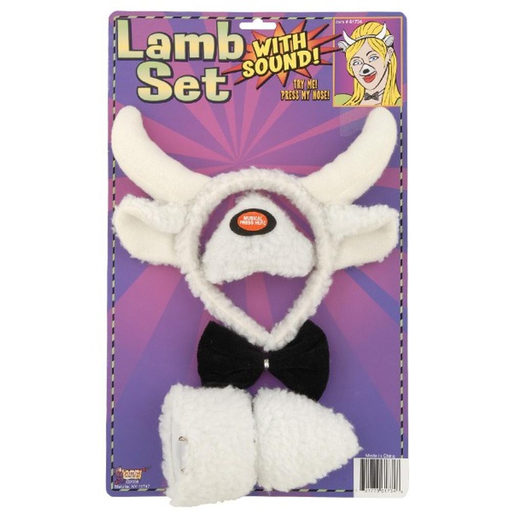 Lamb Sheep Dress Up Set with sound