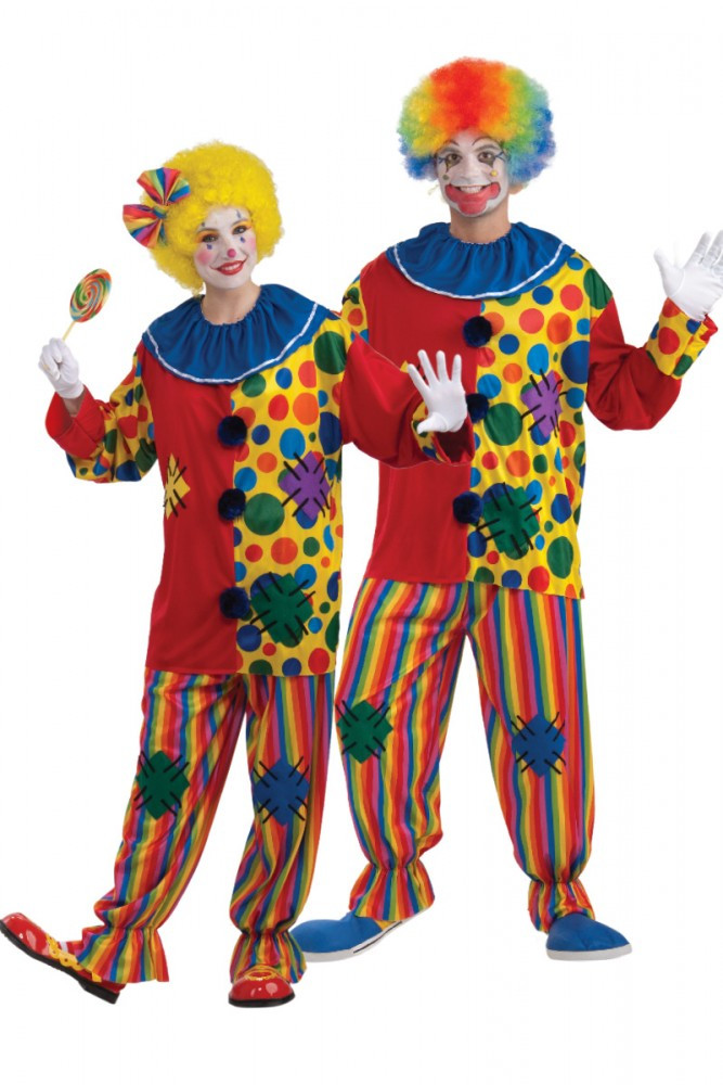 Big Top Clown Circus Adult Costume