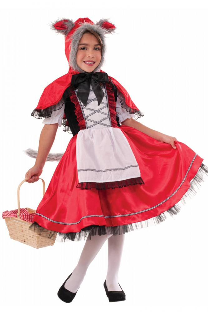 Lil' Red Riding Wolf Kids Costume