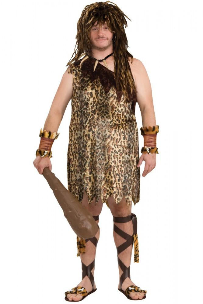 Caveman Plus Size Mens Costume
