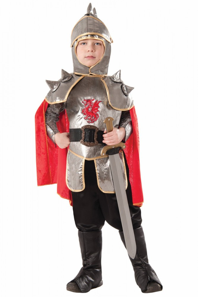 Medieval Knight Boys Costume