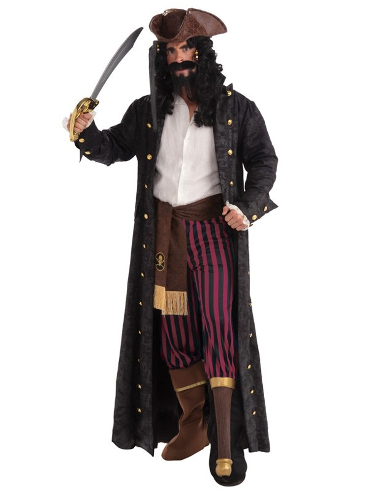 Pirate Coat Mens Costume