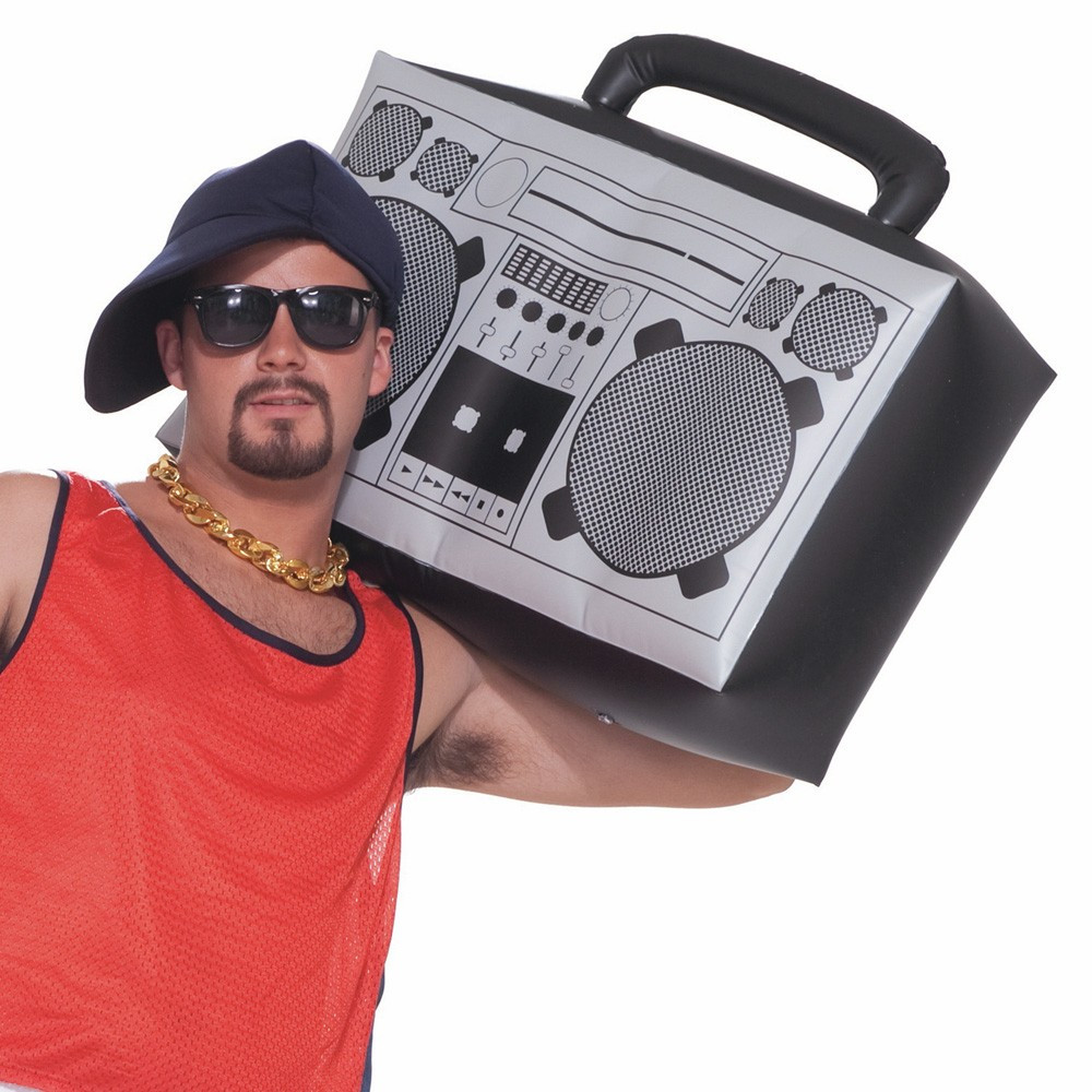 Hip Hop Inflatable Boom Box