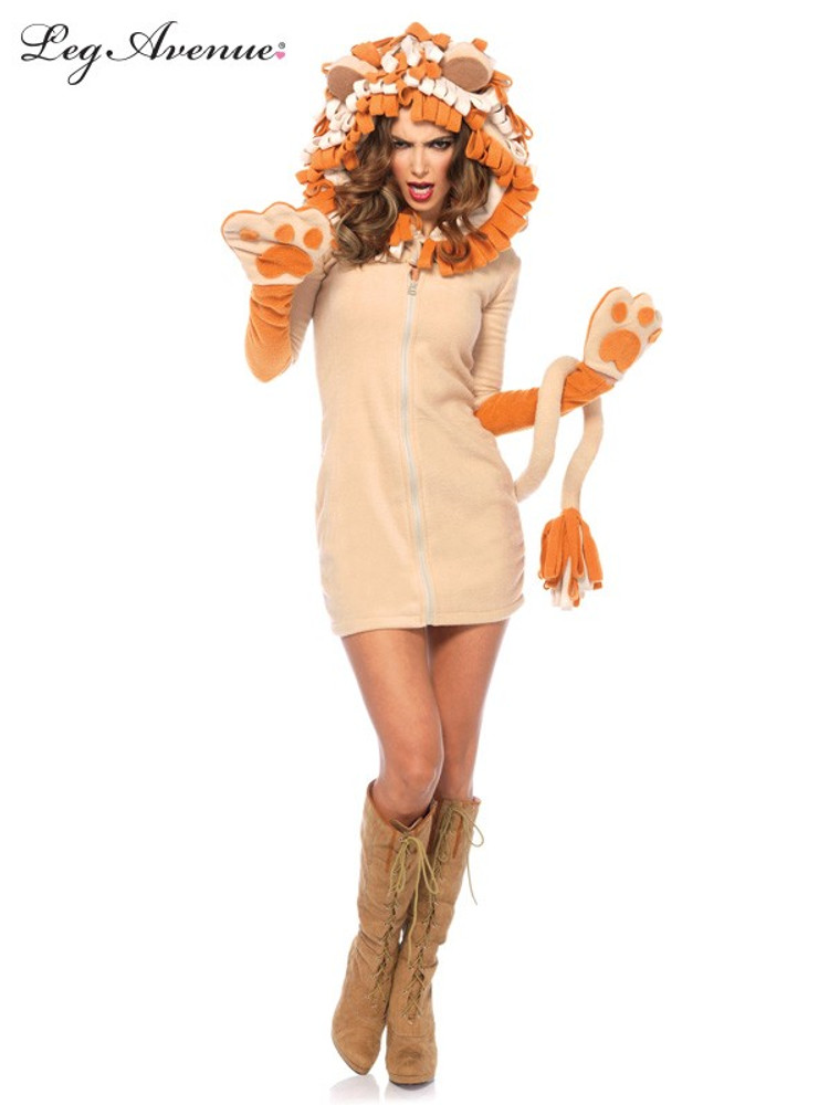 Cozy Lion Adult Dress