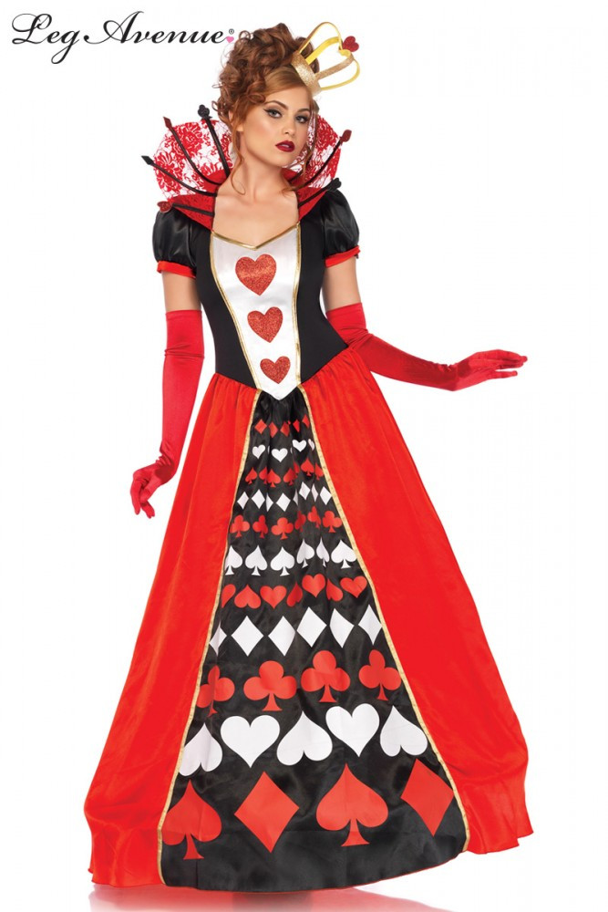 Alice in Wonderland Queen of Hearts Womens Costume