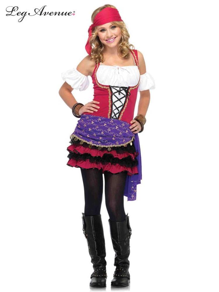 Gypsy Crystal Ball Girls Costume