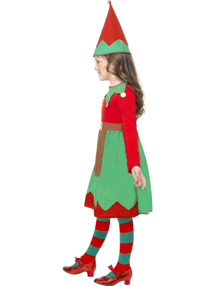 Santa's Little Helper Kids Costume