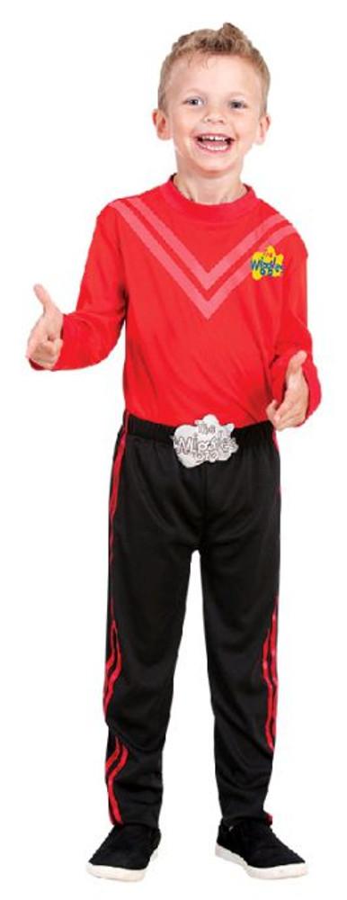 Wiggles Simon Red Kids Costume