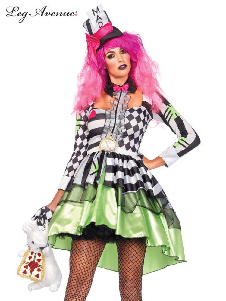 Alice in Wonderland Deliriously Mad Hatter Womens Costume